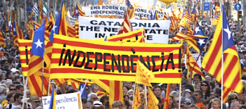 The media constantly pumps out the lie that there is a silent anti-independence majority in Catalonia, which is merely curiously invisible.