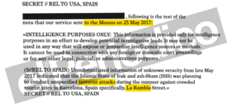 How A Dubious CIA Document Is Fuelling Tensions In Catalonia