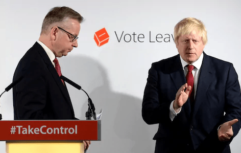 BREAKING NEWS: Vote Leave Fronted by Johnson and Gove Referred to Police