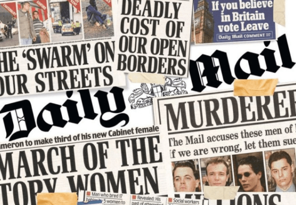 Daily Mail: Most Unreliable Paper for 3rd Year in a Row