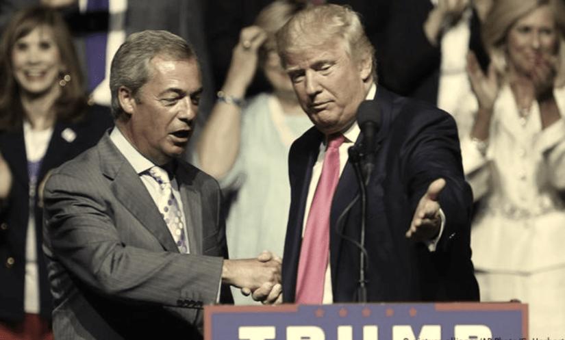 Democracy threat - Trump demands 'realignment of British politics'