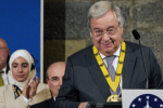 A 'strong and united Europe' has never been more needed, declares UN chief Guterres