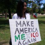 AZ Anti-Trump Protester: 'Make America Mexico Again'
