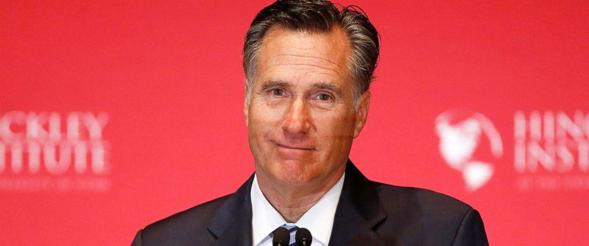 Romney mulling Senate bid