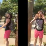 VIDEO: 'BLACK LIVES MATTER' HIPSTER CAUGHT TEARING DOWN RIBBONS SUPPORTING POLICE