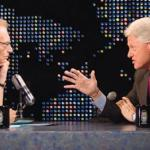 "Clinton News Network: Caught On A Hot Mic In 1992, Larry King Assures Bill Clinton: ""Ted Turner Would Serve You"""