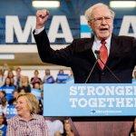 Warren Buffett to Chauffeur Voters to Polls in November