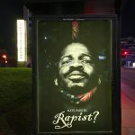 """'Birth of a Nation' Poster Altered to Read """"Rapist?"""""""