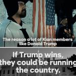 Trump campaign blasts Clinton KKK video as 'disgusting new low'
