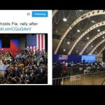 MEDIA PHOTOSHOPS HILLARY CROWD TO MAKE HER AUDIENCE LOOK BIGGER