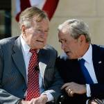 TRAITOR: George H.W. Bush to Vote for Hillary Clinton