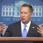 Closest He Will Ever Get: KASICH TRIES OUT THE WHITE HOUSE PODIUM