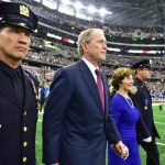 George and Laura Bush Get Standing Ovation During Dallas Cowboys 9/11 Observance