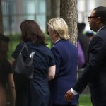 Hillary Clinton Leaves 9/11 Memorial Ceremony Early, Dragged into Van