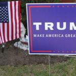 Triggered: Former college admin caught stealing Trump yard signs