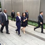 NYPD: Hillary Whisked from Ground Zero to NY Home to See Medical Specialists After Collapse
