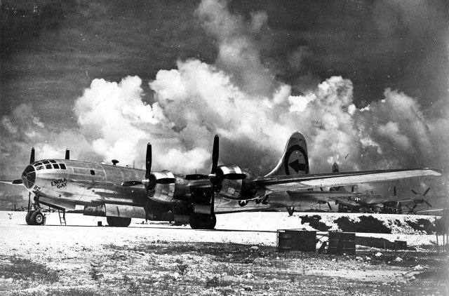 the-b-29-was-very-advanced-for-its-time-featuring-a-pressurized-cabin-tricycle-dual-wheeled-landing-gear-and-remote-controlled-gun-turrets