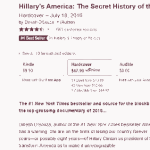 Weeks-old anti-Hillary books still outselling Clinton's new campaign tome