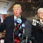 Newt Gingrich: Hillary Isn't Beating Trump – Trump Is Beating Trump