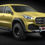 PHOTOS: The Mercedes-Benz X-Class Concept is a stylish Euro pickup for everyone else