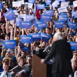 Students Yell 'Hillary Is a War Monger' and 'Sellout' During Bernie Rally at University of New Mexico