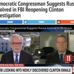 VIDEO: Democratic Congressman Suggests Russia Involved in FBI Reopening Clinton Investigation