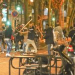 WAR ON THE STREETS OF PARIS: Armed migrants fight running battles in the French capital (Video)
