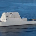 $4.4 Billion USS Zumwalt Destroyer Towed From Panama Canal After Breakdown