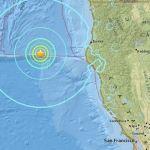 Magnitude 6.5 earthquake strikes off the coast of Northern California