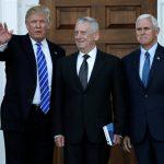 Trump has chosen retired Marine Gen. James Mattis for secretary of defense