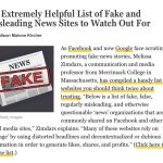 """Mainstream Media Is Now Whining About The """"Fake News"""" Hysteria It Created"""