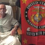 U.S. Marine's Dramatic VIDEO Farewell from Hospital Deathbed; Salutes Donald Trump & Then Passes Away