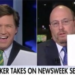 VIDEO: Newsweek Writer Loses His Mind After Tucker Carlson Asks Him A Question