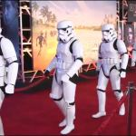 BLASTER CONTROL? Stormtroopers weaponless at CA 'Rogue One' premiere (Video)