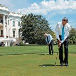 Obama may get rejected from golf club over Israel policies