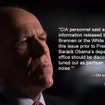 How To Tell A Govt Lie: CIA Agents Predicted Three Weeks Days Ago CIA Director Brennan Would Lie about Russian Hacking in Election