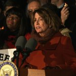 VIDEO: Basket Case Pelosi distracted by 'new moon' as mic malfunctions during Dem protest