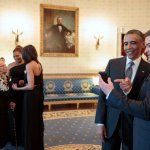 Stars at Obama's White House Farewell Bash Party Until 4 A.M.