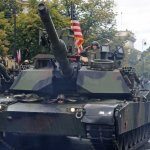 U.S. Army tanks rumble into Germany to bolster NATO allies