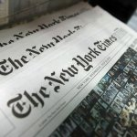 NYT Officially Anti-Trump Land: Every Section Thursday Featured Anti-Trump Story on Front