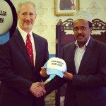 US Ambassador Gives 'Make Somalia Great Again' Hat To Somalia's New President