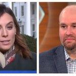 VIDEO: Hallie Jackson Stares At Her Phone For Majority Of Glenn Thrush's MSNBC Segment