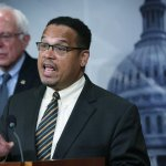 DNC Contender Ellison Holds Press Event With CAIR Radical