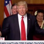 WATCH: Trump Draws Laughs With 7-Word Joke About The Ninth Circuit Court