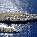 US Carrier Strike Group Sails Toward Korea In Show Of Force