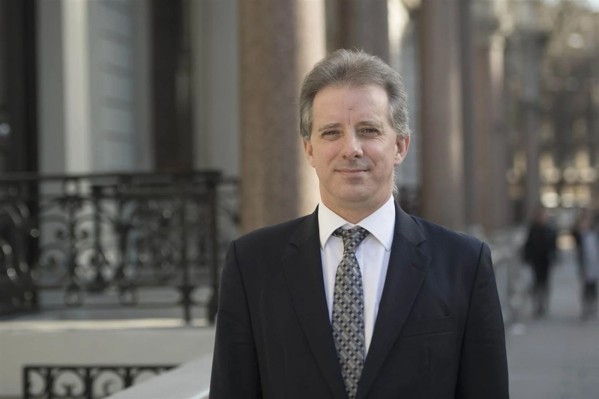 FBI Is Being Sued For Records About Christopher Steele's Trump Dossier