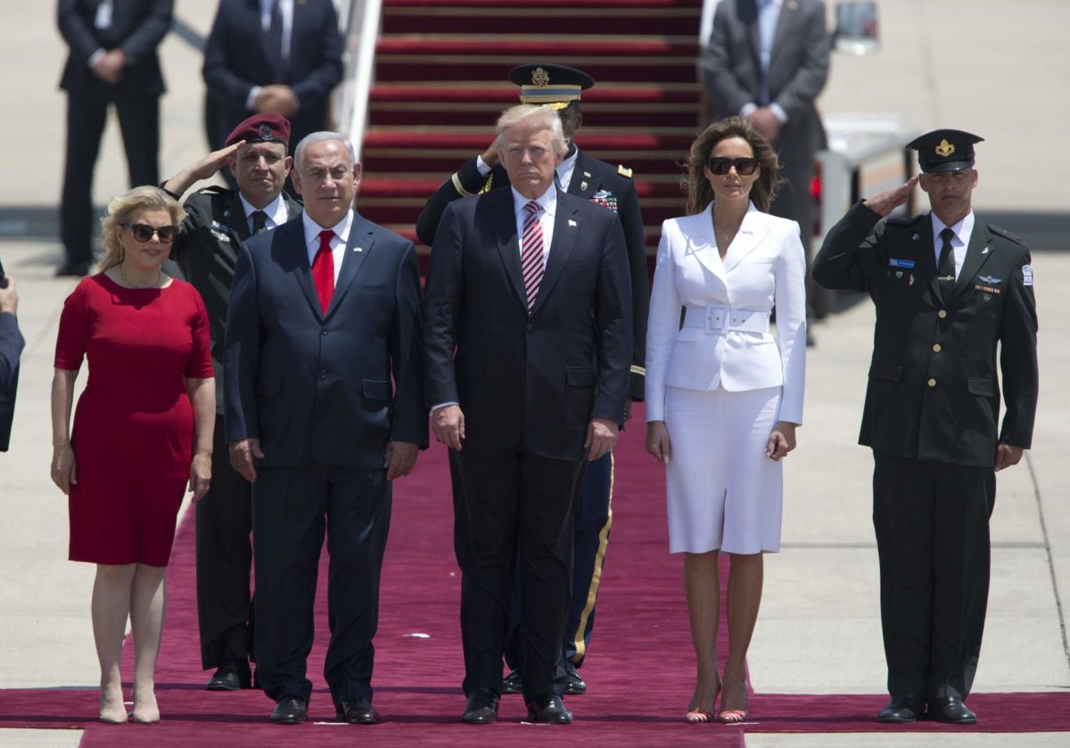 In First Trip To Israel, Trump Relishes 'Rare Opportunity' For Peace In The Middle East