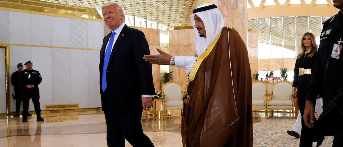 Trump Kicks Off Saudi Visit With $110 Billion Weapons Deal