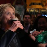 HILLARY: Drinking helped me get over election loss (VIDEO)