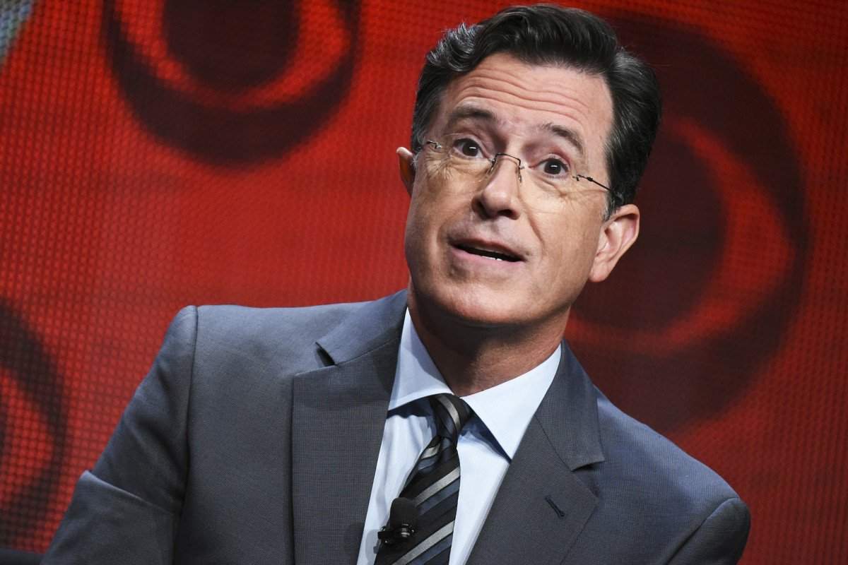 Stephen Colbert being investigated by the FCC for obscene anti-Trump joke